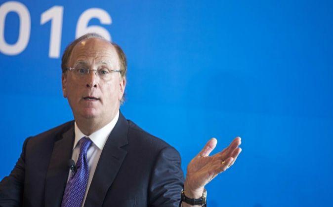 Larry Fink, presidente de BlackRock.