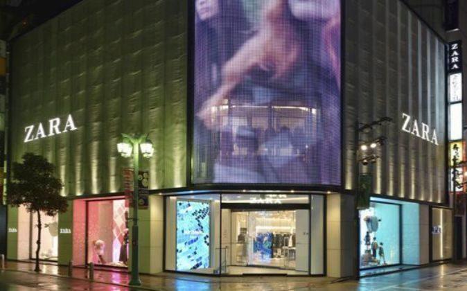 Imagen de una tienda de Zara.