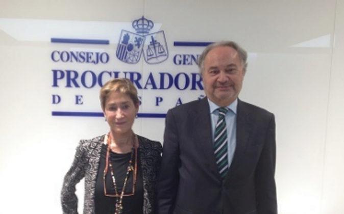 Victoria Ortega, presidenta del Consejo General de la Abogacía...