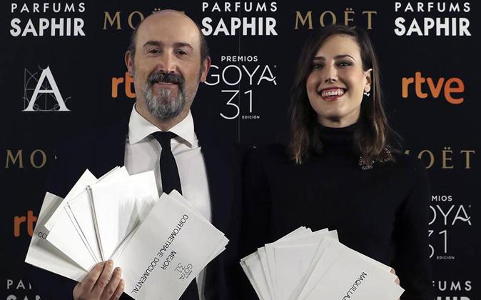 La compañía zaragozana ha sido el patrocinador de los Premios Goya...