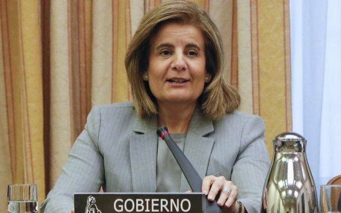 La ministra de Empleo y Seguridad Social Fátima Báñez.