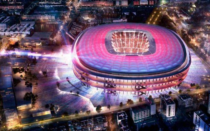 La reforma del Camp Nou costará no menos de 600 millones de euros.