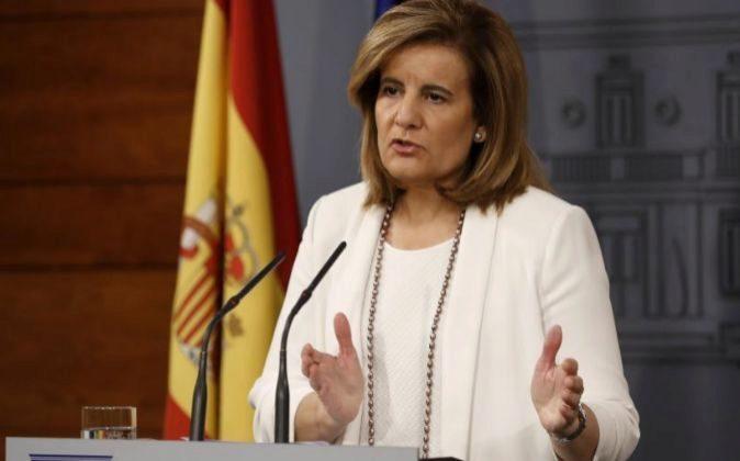 La ministra de Empleo Fátima Báñez.