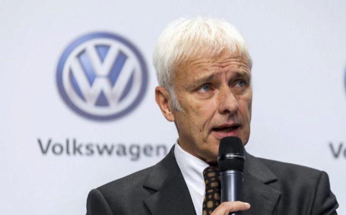 El consejero delegado del fabricante de automóviles alemán...