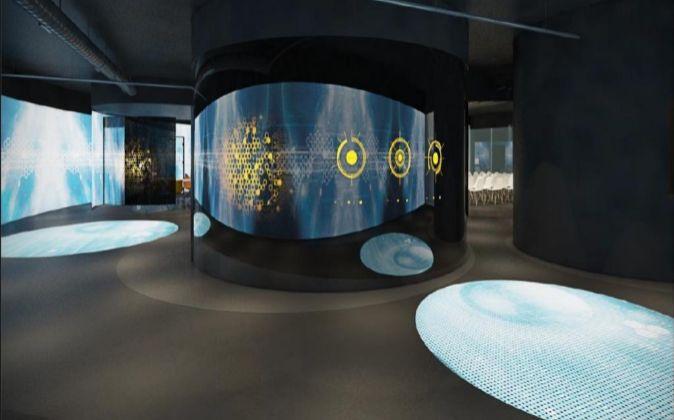Centro de inteligencia artificial de EY, en Torre Azca (Madrid).