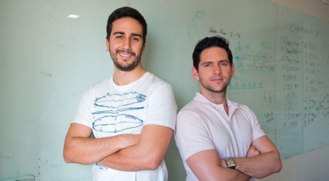 Javier Buron (CEO) y Alfredo Artiles (CTO), cofundadores de la...