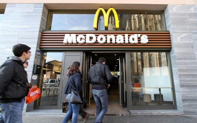 Restaurante de McDonald's.