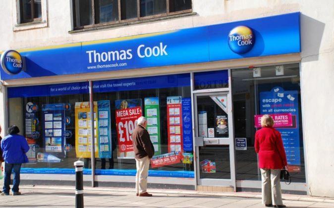 Establecimiento de Thomas Cook.