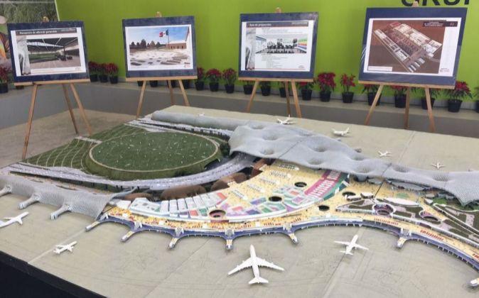 Acciona, FCC y Slim firman el contrato del nuevo aeropuerto de México por 3.900 millones