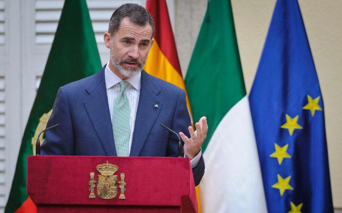El Rey Felipe VI.