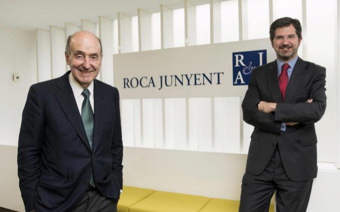 Miquel Roca Junyent y Joan Roca Sagarra.
