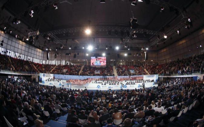 Vista general del XVIII Congreso nacional del PP.