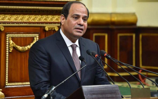 El presidente egipcio Abdel Fattah al-Sisi.