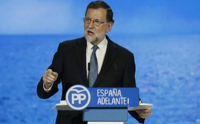 El presidente del Gobierno y del PP Mariano Rajoy.