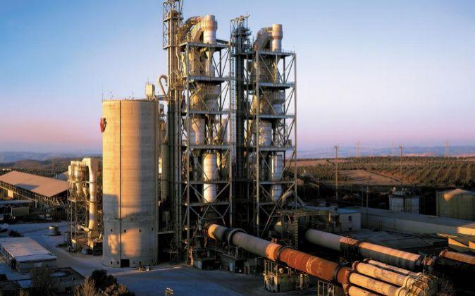 Fábrica de Cementos Portland en Madrid.