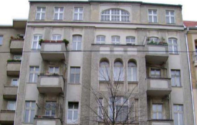 Edificio Schönhauser, uno de los inmuebles que posee Montebalito en...