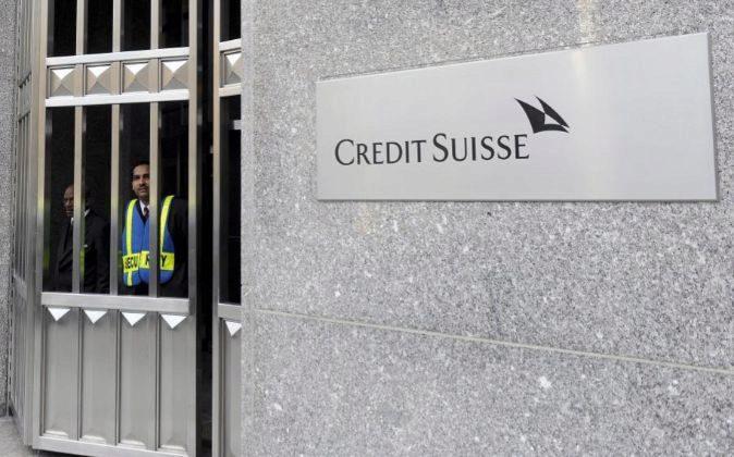 Vista de una sede de Credit Suisse.