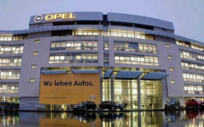 Sede de Opel.