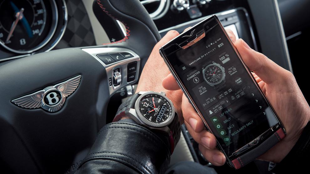 Bentley Supersports B55 es el primer reloj de Breitling equipado con...