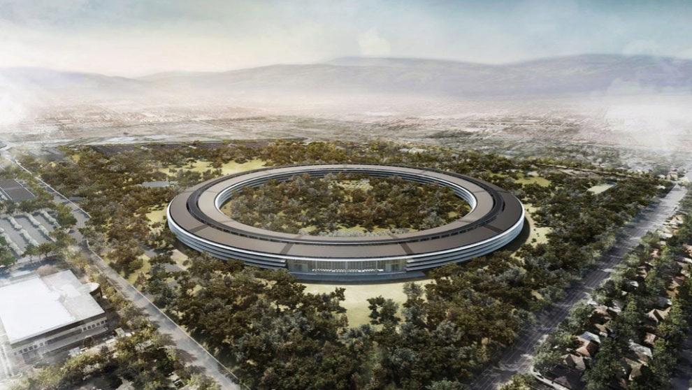 Infografía de cómo quedará el Apple Campus 2. Se han tardado 6...
