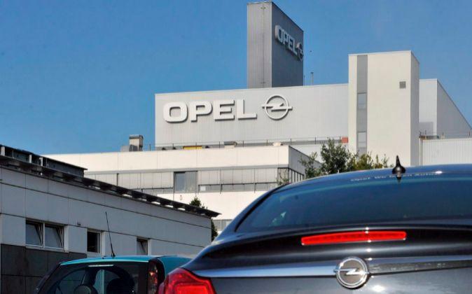 Vista de la planta de Opel en Eisenach (Alemania)