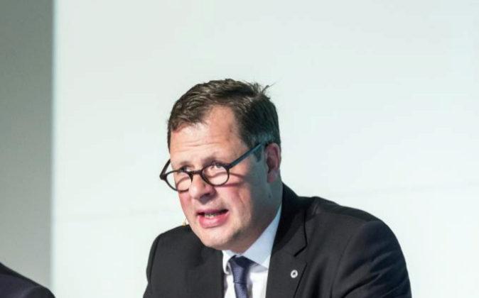 El consejero delegado del grupo Schindler, Thomas Oetterli.