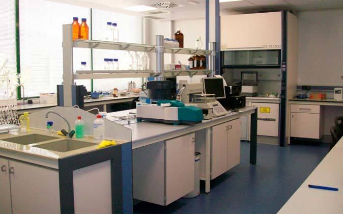 Laboratorio de la farmacéutica Rovi.