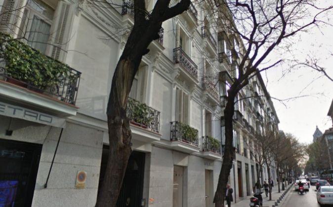 Imagen de la calle Jorge Juan de Madrid, donde Grosvenor y Amprop...
