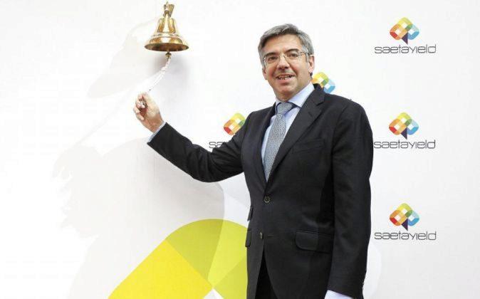 José Luis Martínez Dalmau, presidente de Saeta Yield, durante la...