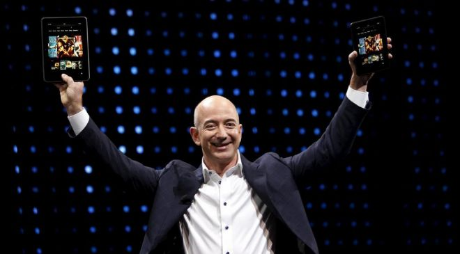 Jeff Bezos, fundador y CEO de Amazon,