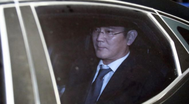 El heredero del grupo Samsung y vicepresidente de Samsung Electronics,...