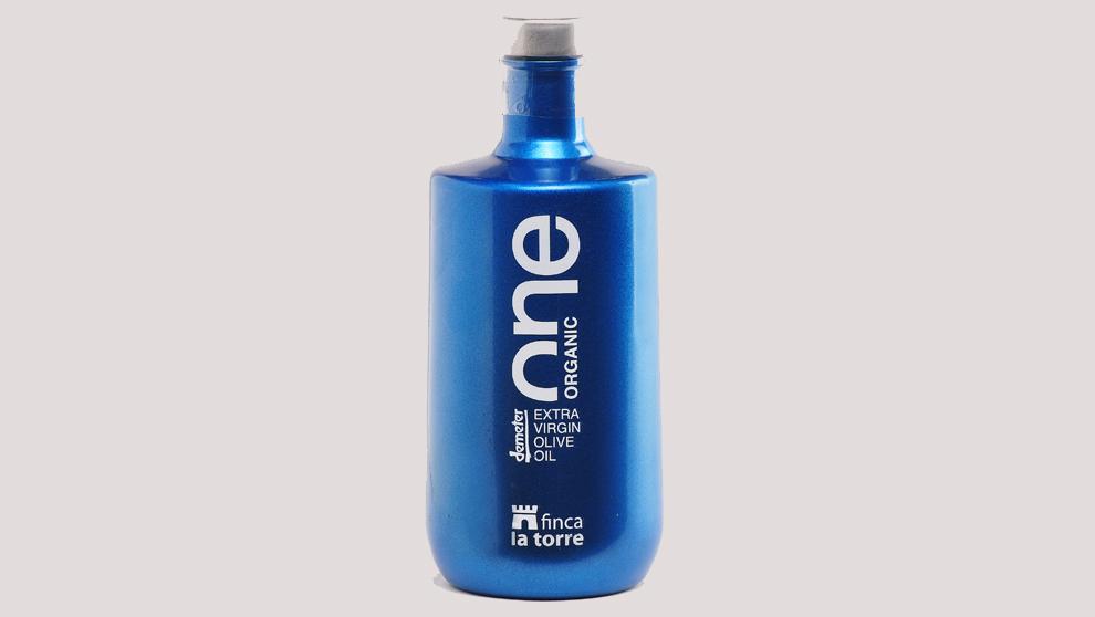 El aceite de oliva virgen extra 'One Organic' se crea con...