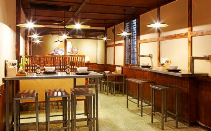 El comedor del Chuka Ramen Bar servirá como escenario de esta...