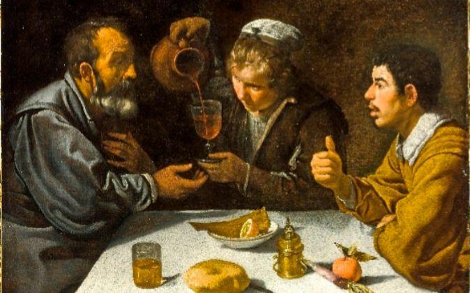 'El almuerzo' (1618), de Velázquez.