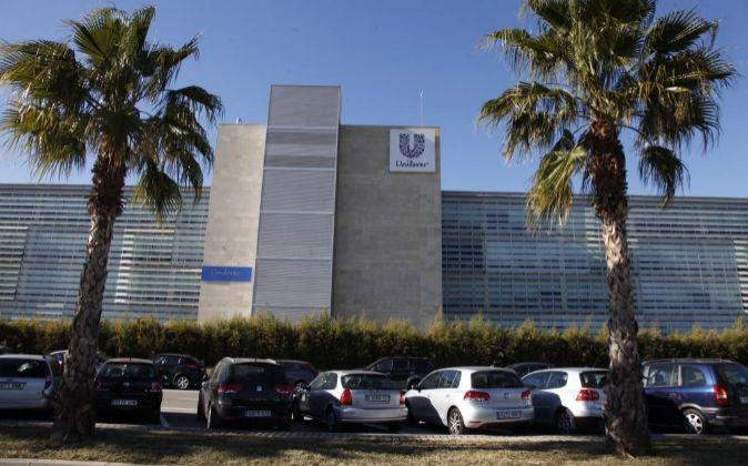 SEDE DE UNILEVER ESPAÑA EN VILADECANS BUSINESS PARCK BARCELONA.