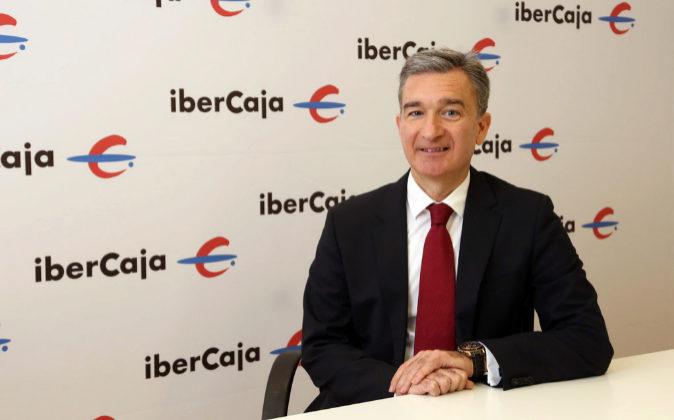 El consejero delegado de Ibercaja Banco, Víctor Iglesias