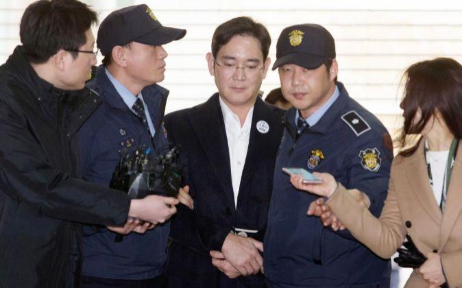 Lee Jae-yong es el vicepresidente de Samsung Electronics.