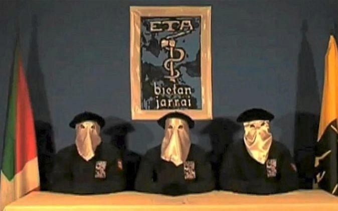 Imagen de archivo de uno de los vídeos de la organización terrorista...
