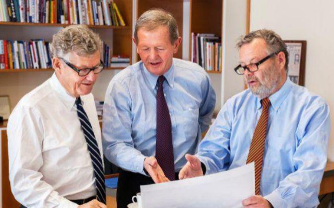 Jacob, Marcus y Peter Wallenberg.