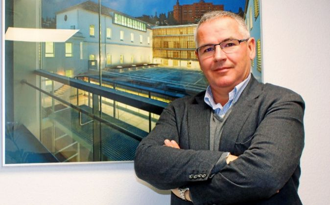 Jorge Fradeja, director general de Guamar, en la sede de la...