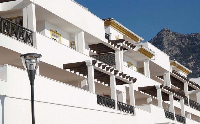 Promoción de viviendas en Málaga.