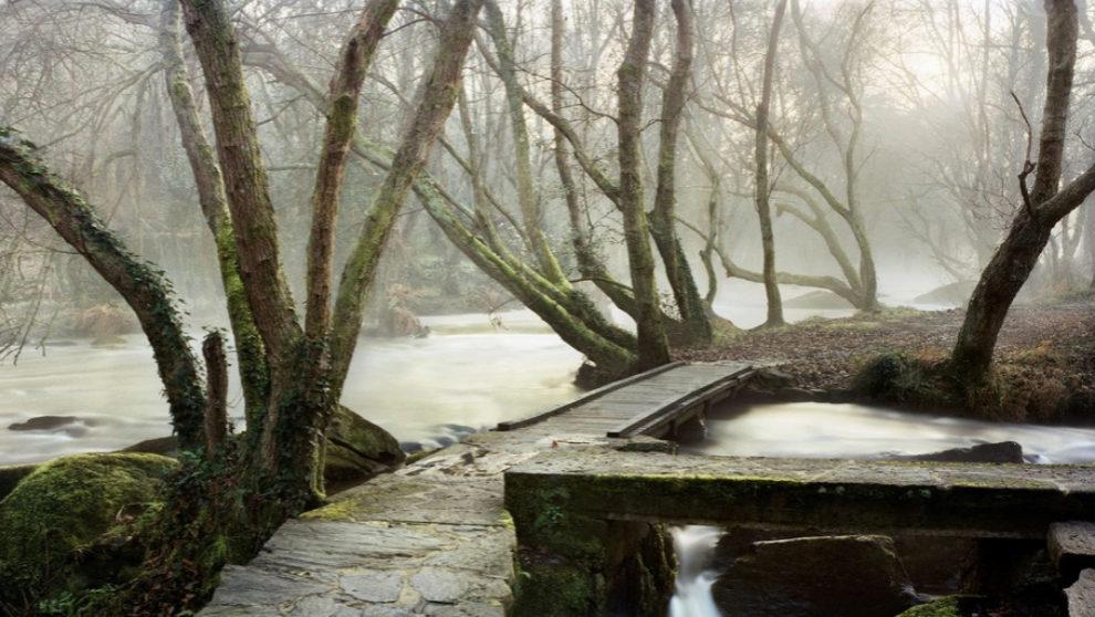 Puente de Lugo. 100 x 201 cm.