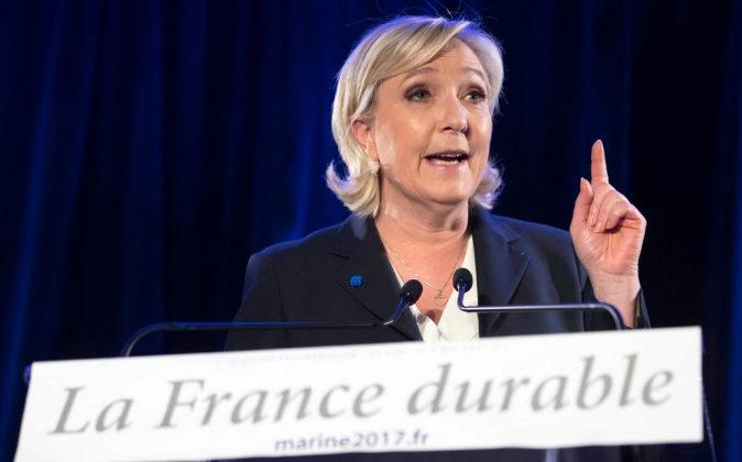 La líder del Frente Nacional, Marine Le Pen