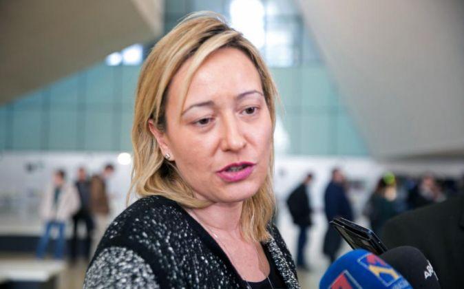 La consejera de Economía del Gobierno de Aragón, Marta Gastón.