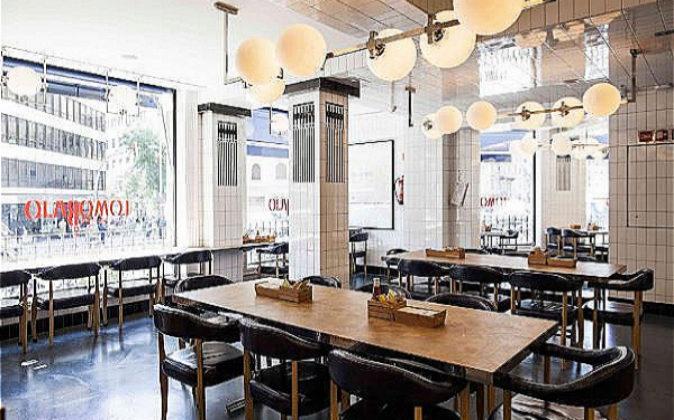Imagen del restaurante Lomo Bajo, en pleno centro de Barcelona.