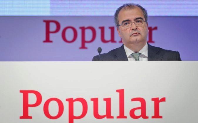 Ángel Ron, expresidente de Popular.