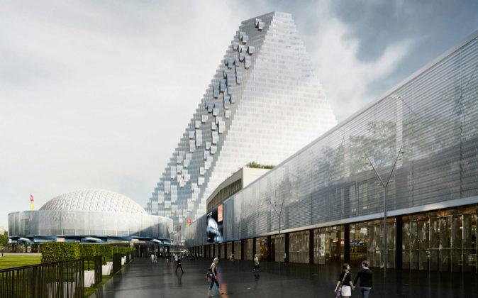 La primera fase de la remodelación del nuevo complejo <b>Paris...