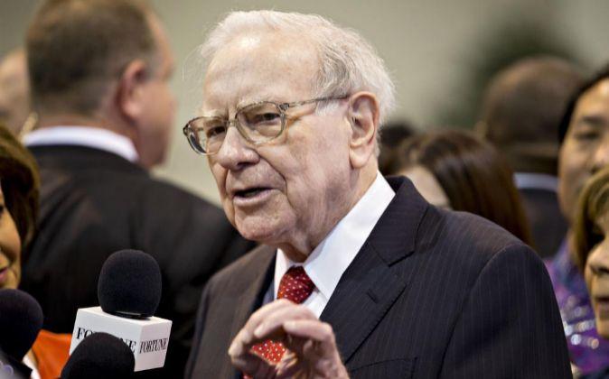 Warren Buffett, inversor y presidente de Berkshire Hathaway