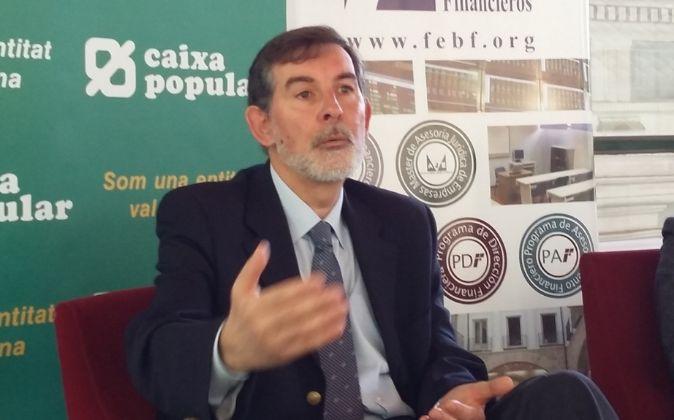 Rosendo Ortí, durante su intervención.
