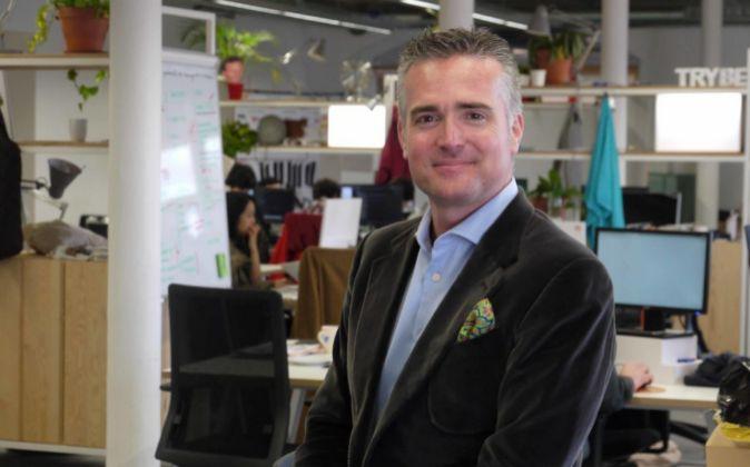 Eneko Knörr, emprendedor en serie e inversor, en las oficinas de la...